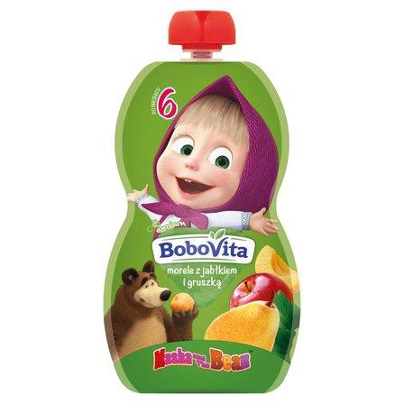 BoboVita Mus morele z jabłkiem i gruszką po 6 m-cu (1)