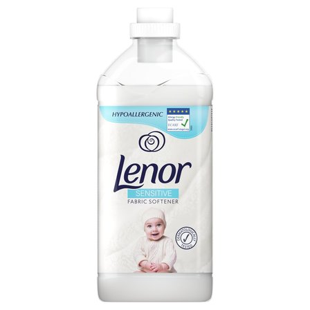 LENOR Sensitive Płyn do zmiękczania tkanin (60 prań) (1)