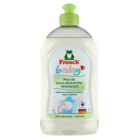 FROSCH Baby Płyn do mycia akcesoriów dziecięcych (1)