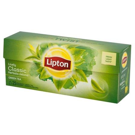 LIPTON Classic Herbata zielona (25 tb.) (1)