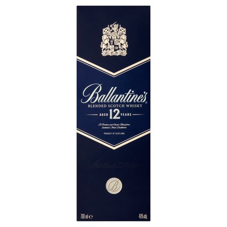 Ballantine's Aged 12 Years Blended Scotch Whisky (2)