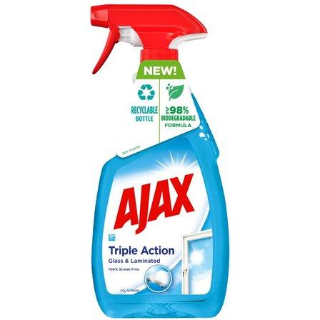 AJAX Triple Action Płyn do czyszczenia szyb (1)