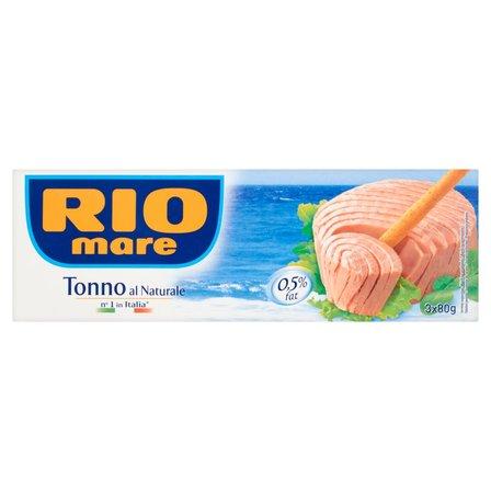 RIO MARE Tuńczyk w sosie własnym (3 x 80 g) (2)