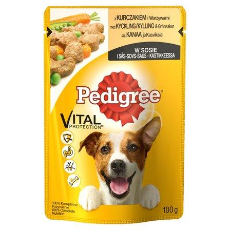 PEDIGREE Vital Protection Karma pełnoporcjowa z kurczakiem i warzywami w sosie (1)