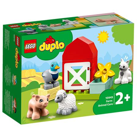LEGO Duplo Zwierzęta gospodarskie 10949 (2+) (1)