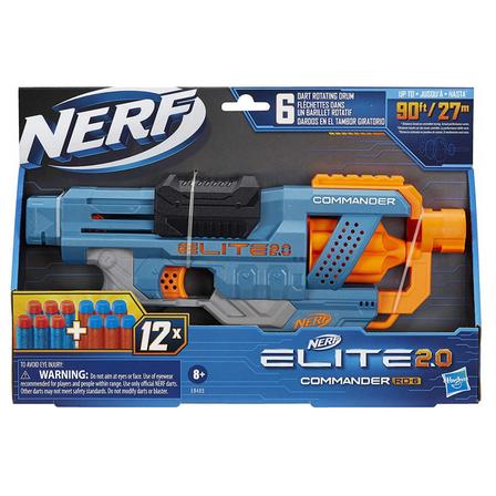 NERF Wyrzutnia Elite 2.0 Commander (8+) (1)