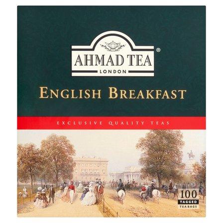 AHMAD Tea English Breakfast Herbata czarna (100 tb.) (2)