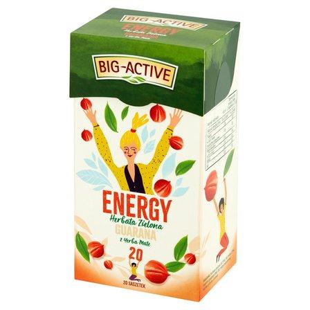Big-Active Energy Herbata zielona guarana z yerba mate (20 tb.) (1)