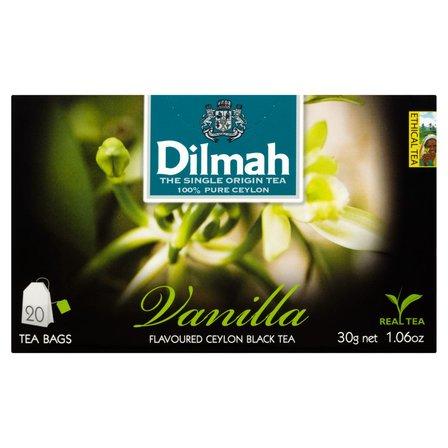 DILMAH Czarna herbata z aromatem wanilii (20 tb.) (2)