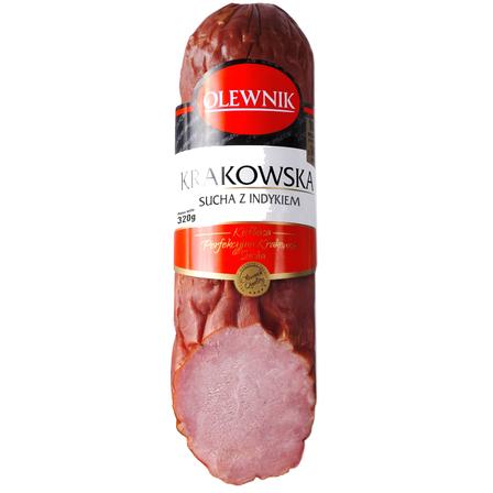OLEWNIK Kiełbasa krakowska sucha z indykiem (1)
