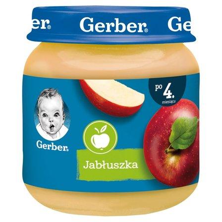 GERBER Jabłuszka dla niemowląt po 4. m-cu (1)