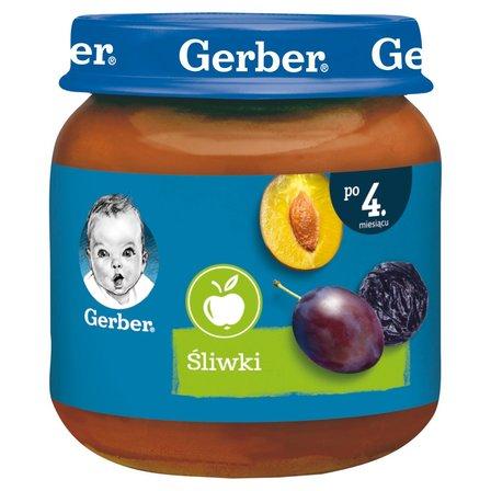 GERBER Śliwki dla niemowląt po 4. m-cu (1)