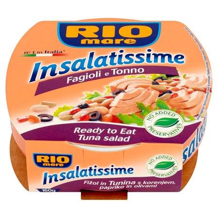 RIO MARE Insalatissime Fagioli e Tonno Gotowe danie z warzyw i tuńczyka (1)