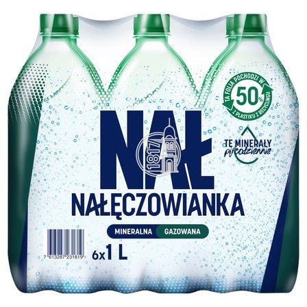 Nałęczowianka Naturalna woda mineralna gazowana 6 x 1 l (1)