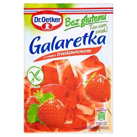 DR. OETKER Galaretka bez glutenu o smaku truskawkowym (1)