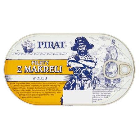 PIRAT Filety z makreli w oleju (2)