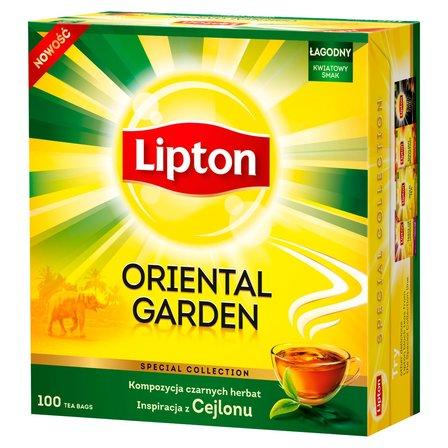 LIPTON Oriental Garden Herbata czarna (100 tb.) (1)