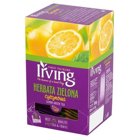 IRVING Herbata zielona cytrynowa (20 tb.) (1)