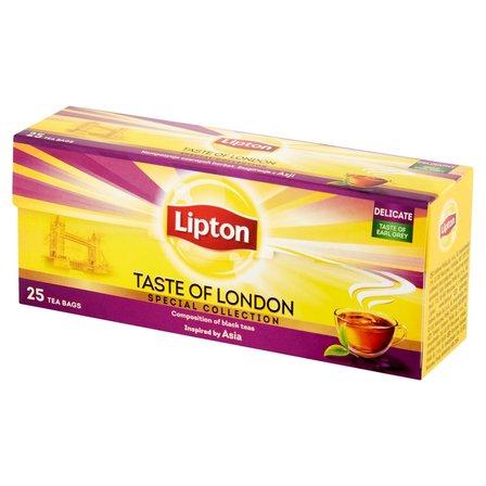 LIPTON Taste of London Herbata czarna aromatyzowana (25 tb.) (1)