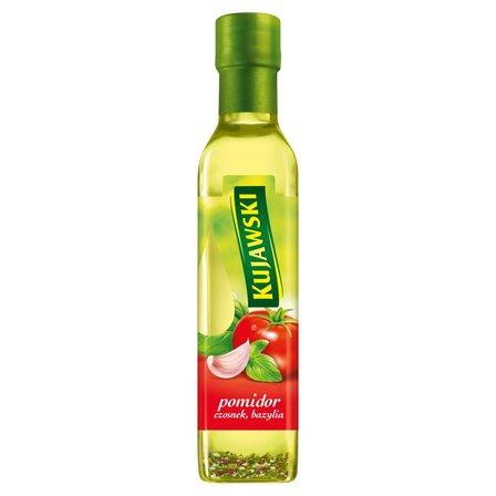 KUJAWSKI Olej rzepakowy z pierwszego tłoczenia z pomidorami czosnkiem i bazylią (1)