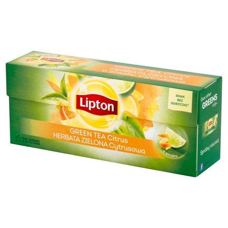 LIPTON Herbata zielona cytrusowa (25 tb.) (1)