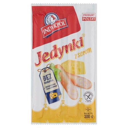 INDYKPOL Premium Parówki Jedynki z serem (1)