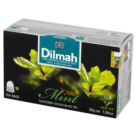 DILMAH Czarna herbata z aromatem mięty (20 tb.) (1)