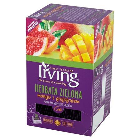 IRVING Herbata zielona mango z grejpfrutem (20 tb.) (1)