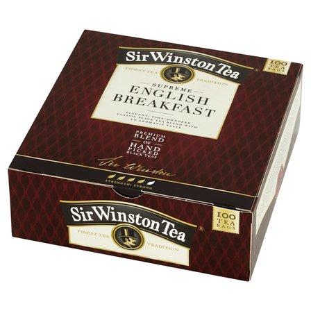 SIR WINSTON Tea Supreme English Breakfast Herbata czarna (100 tb.) (1)