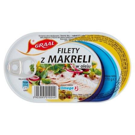 GRAAL Filety z makreli w oleju (2)