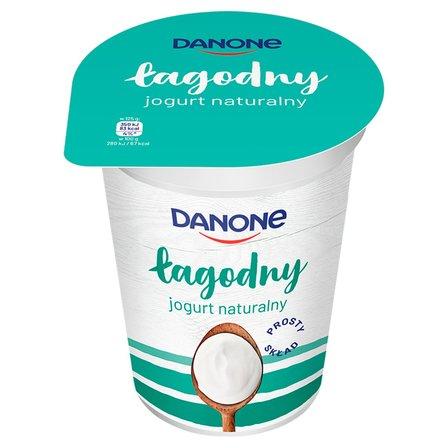 DANONE Jogurt naturalny łagodny (1)