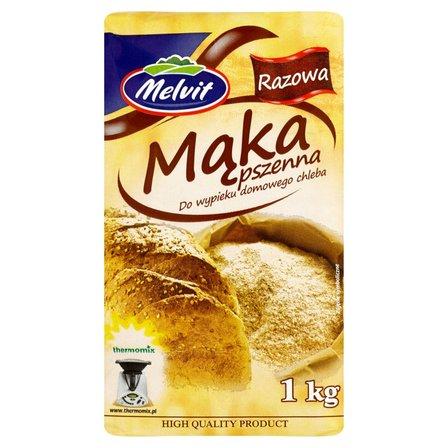 MELVIT Mąka pszenna razowa do wypieku domowego chleba (2)