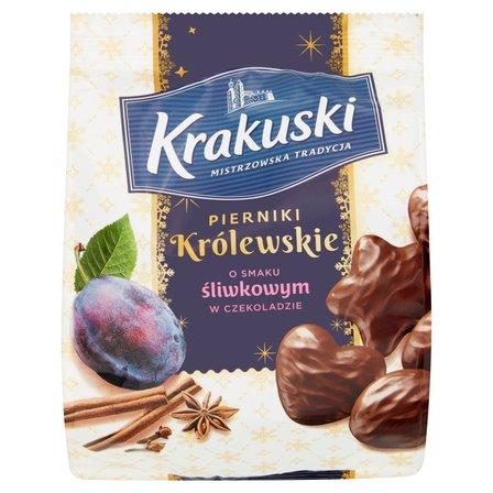 KRAKUSKI Pierniki Królewskie o smaku śliwkowym w czekoladzie (1)