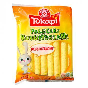 WM Pałeczki kukurydziane produkt bezglutenowy 60g (1)