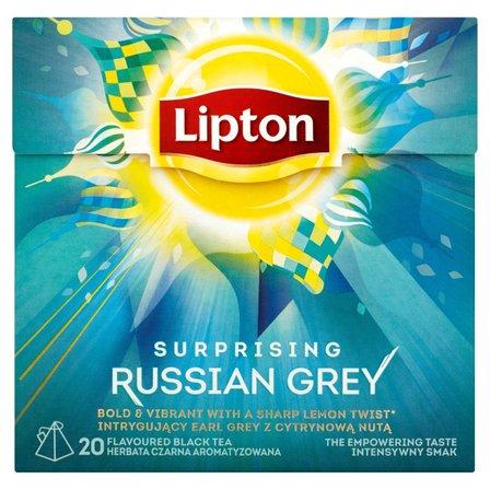 LIPTON Surprising Russian Grey Herbata czarna aromatyzowana (20 tb.) (2)