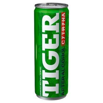 Tiger After Alcohol Gazowany napój energetyzujący o smaku cytryny 250 ml (1)