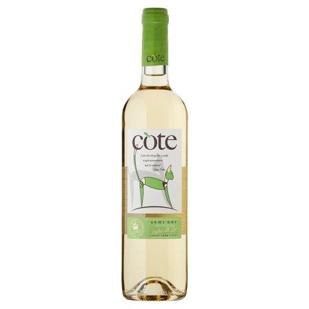 COTE Wino białe półwytrawne bułgarskie (1)