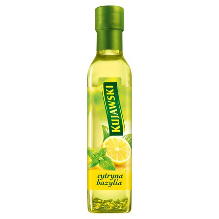 KUJAWSKI Olej rzepakowy z pierwszego tłoczenia z cytryną i bazylią (1)