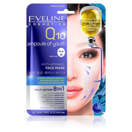 EVELINE Przeciwzmarszczkowa maska z koenzymem Q10 na tkaninie (1)