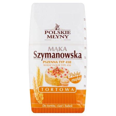 POLSKIE MŁYNY Mąka Szymanowska pszenna tortowa typ 450 (2)