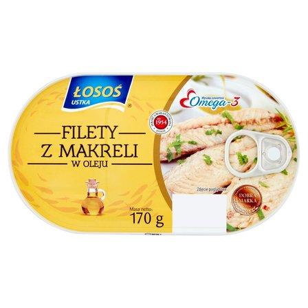 ŁOSOŚ Filety z makreli w oleju (2)