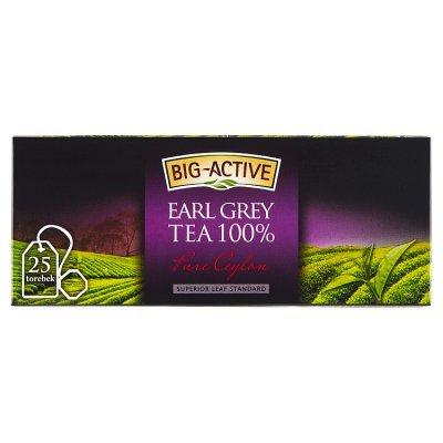 Big-Active Pure Ceylon Earl Grey Herbata 100% 37,5 g (25 torebek) (1)