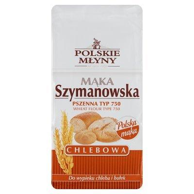 Polskie Młyny Mąka Szymanowska Chlebowa pszenna typ 750 1 kg (1)