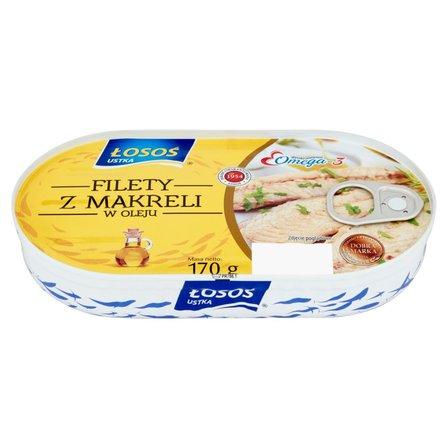 ŁOSOŚ Filety z makreli w oleju (1)