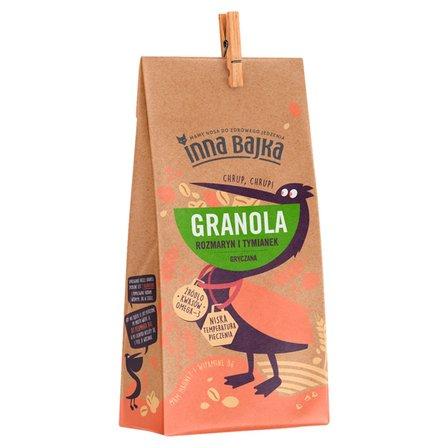 INNA BAJKA Granola gryczana rozmaryn i tymianek  (1)