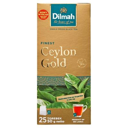DILMAH Ceylon Gold Herbata czarna klasyczna (25 tb.) (1)