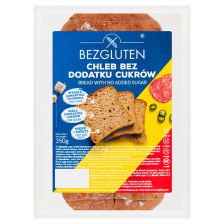 BEZGLUTEN Chleb bez dodatku cukrów (1)
