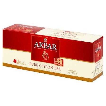 AKBAR Pure Ceylon Herbata czarna (25 tb.) (1)