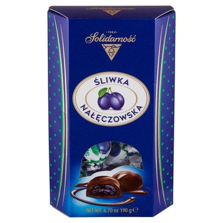 SOLIDARNOŚĆ Śliwka Nałęczowska w czekoladzie Bombonierka (1)