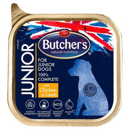 BUTCHER'S Junior Pełnoporcjowa karma dla szczeniąt z kurczakiem i jagnięciną (1)
